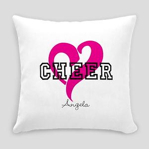 Love Cheer Heart Everyday Pillow