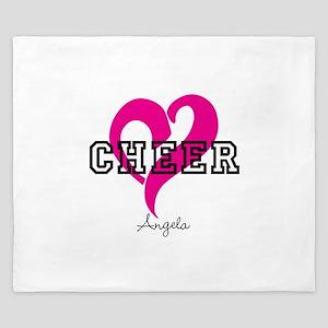 Love Cheer Heart King Duvet