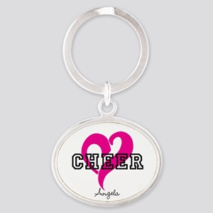 Love Cheer Heart Keychains