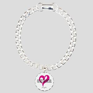 Love Cheer Heart Bracelet