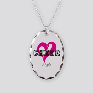 Love Cheer Heart Necklace