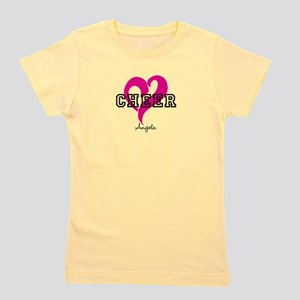 Love Cheer Heart Girl's Tee