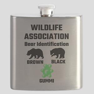 Wildlife Association Bear Identification Flask