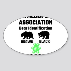 Wildlife Association Bear Identification Sticker