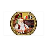 Santa's Am Eskimo #5 35x21 Wall Decal