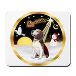 Night Flight/Beagle #2 Mousepad