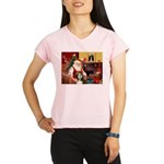 Santa's Beardie Performance Dry T-Shirt