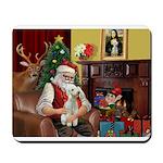 Santa's Bedlington Mousepad