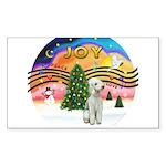 XMusic2 - Bedlington Terrier Sticker (Rectangle 10