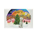XMusic2 - Bedlington Terrier Rectangle Magnet (10