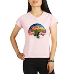 XMusic2-Boston Terrier Performance Dry T-Shirt