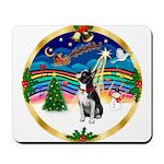 XmasMusic 3/Boston Terrier Mousepad