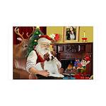 Santa's Brittnany 35x21 Wall Decal