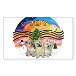 XMusic2-Three Cairns Sticker (Rectangle 10 pk)