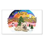 XMusic2-Cairn Terrier (#4) Sticker (Rectangle 10 p