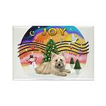XMusic2-Cairn Terrier (#4) Rectangle Magnet