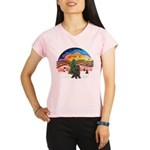 XMusic2-Brindle Cairn Performance Dry T-Shirt
