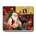 Santa's Cairn Terrier Mousepad