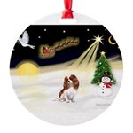 Night Flight/Cavalier #2 Round Ornament