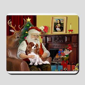 Santa's Cavalier Mousepad