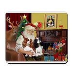 Santa's 2 Cavaliers Mousepad