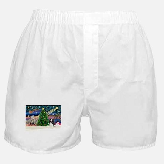 XmasMagic/Cavalier Boxer Shorts