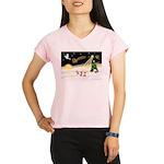 Night Flight/3 Chihuahuas Performance Dry T-Shirt