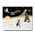 Night Flight/Chihuahua Mousepad