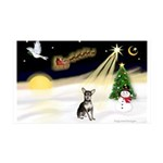 Night Flight/Chihuahua #1 35x21 Wall Decal