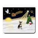 Night Flight/Chihuahua #1 Mousepad