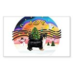 XMusic2-Puff Crested (tri) Sticker (Rectangle 10 p