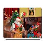 Santa's Shar Pei Mousepad