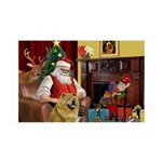 Santa's Chow 35x21 Wall Decal