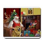 Santa's Chow Mousepad