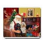 Santa's 2 Cockers Mousepad