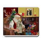 Santa's Cocker Mousepad