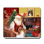 Santa's Collie Mousepad