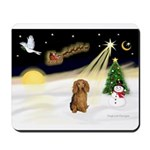 NIGHT FLIGHT<br>&Dachshund LH Mousepad