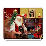 Santa's Dachshud (LH) Mousepad