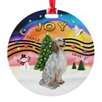 XMusic2-English Setter Round Ornament