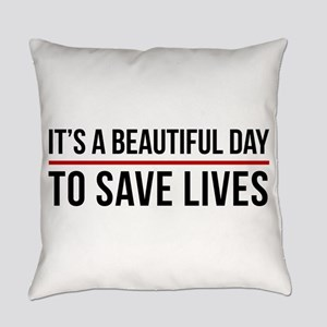 Save Lives Everyday Pillow