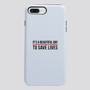 Save Lives iPhone 8/7 Plus Tough Case