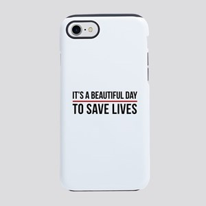 Save Lives iPhone 8/7 Tough Case