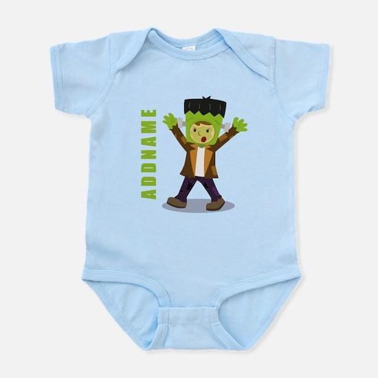 Halloween Green Goblin Personalize Infant Bodysuit
