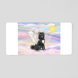 Akita - black1(JF) Aluminum License Plate
