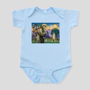 Saint Francis & Boxer Infant Bodysuit