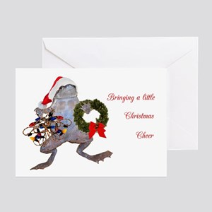 Christmas Frog Greeting Cards (Pk of 20)