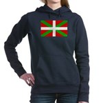 Basque Flag Women's Hooded Sweatshirt