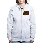 Basque Flag Women's Zip Hoodie