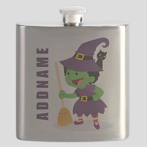 Personalized Halloween Flask
